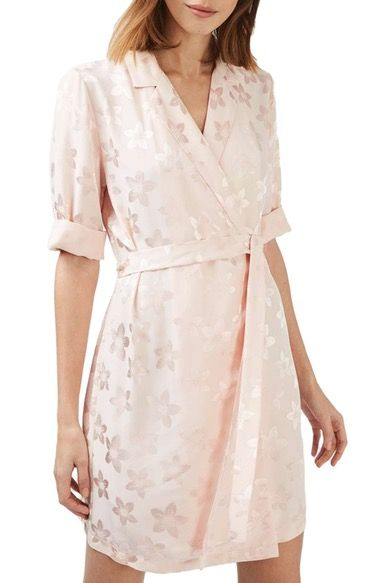 d1ac1d391d9 Topshop Floral Jacquard Wrap Dress available at  Nordstrom