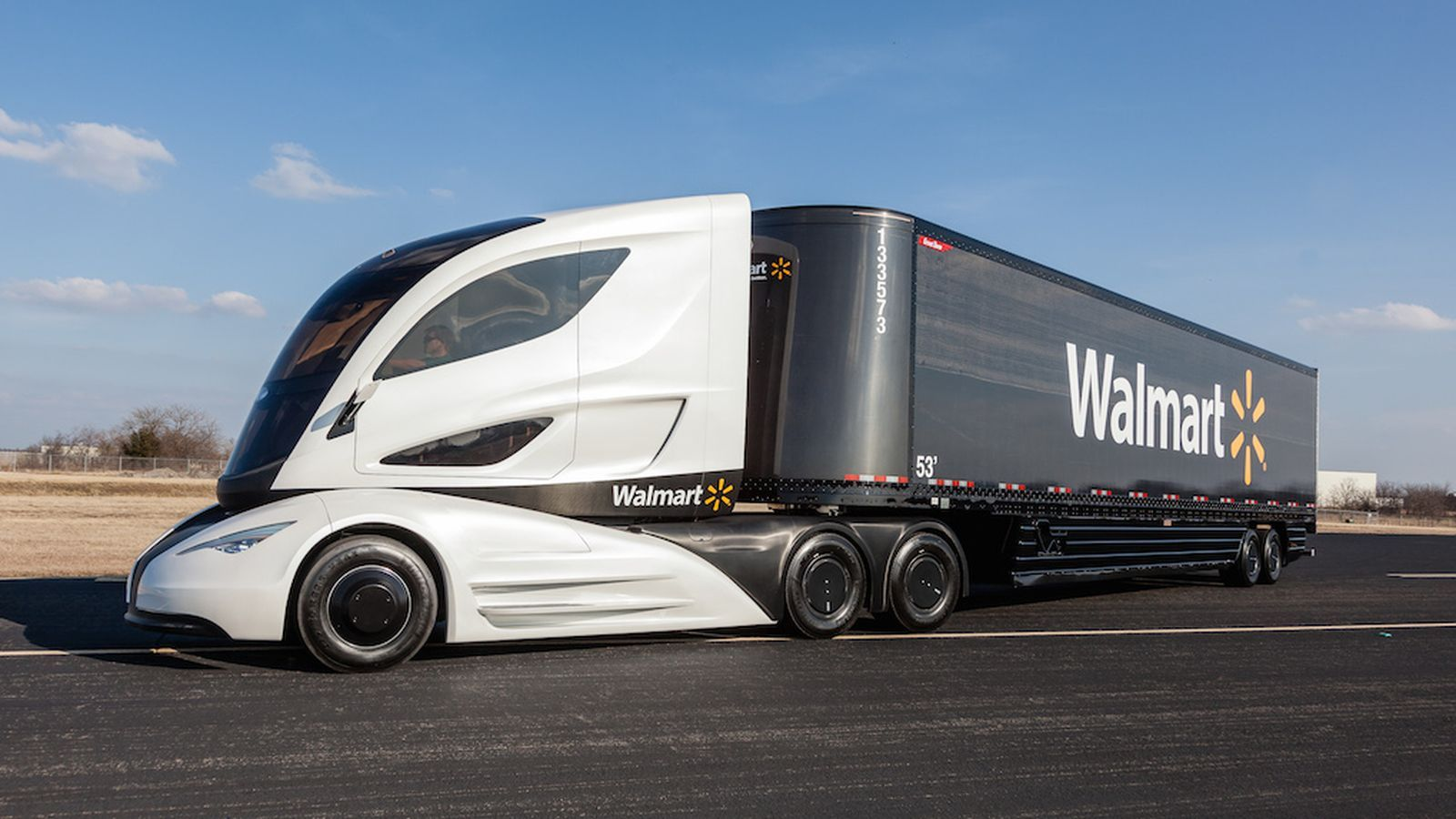 This Is What Walmart Thinks Tractor Trailers Of The Future Will
