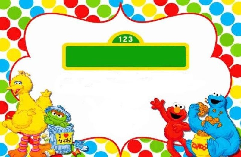 Awesome Free Sesame Street Birthday Invitations Sesame Street Birthday Invitations Elmo Birthday Invitations Elmo Invitations