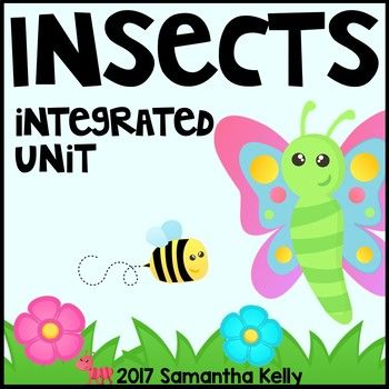 This insect unit for your kindergarten classroom is integrated and packed with insect math, literacy, writing, and science activities!GRAB THIS THEMED UNIT IN A MEGA BUNDLE WITH 19 OTHER INTEGRATED UNITS FOR HUGE SAVINGS! Thematic Units: Mega BundleHere's What You Get:Learn About Insects Insect Parts Poem/SongInsect Parts Vocabulary and LabelingWhat Makes an Insect Poster and SortCan/Have/Are Brace MapPollination Poster and Interactive ActivityLife Cycle of a Butterfly Sequence Cards…