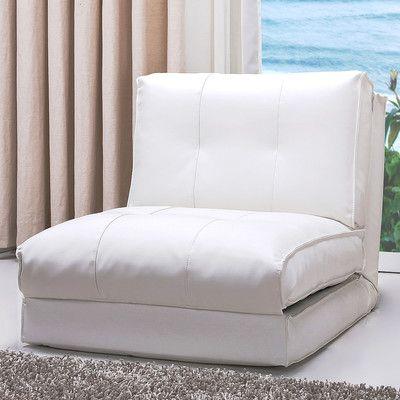 Latitude Run Balmoral Single Convertible Side Chair Fold