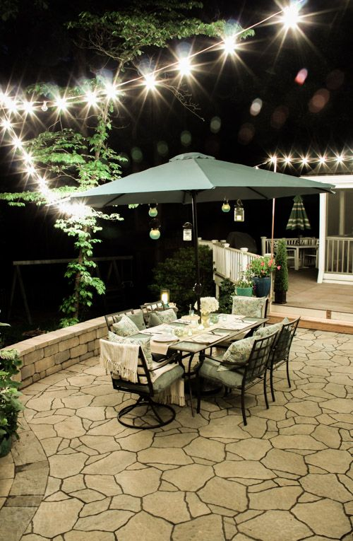 Outdoor Garden Patio Party Decorating Ideas Pretty Handy Girl