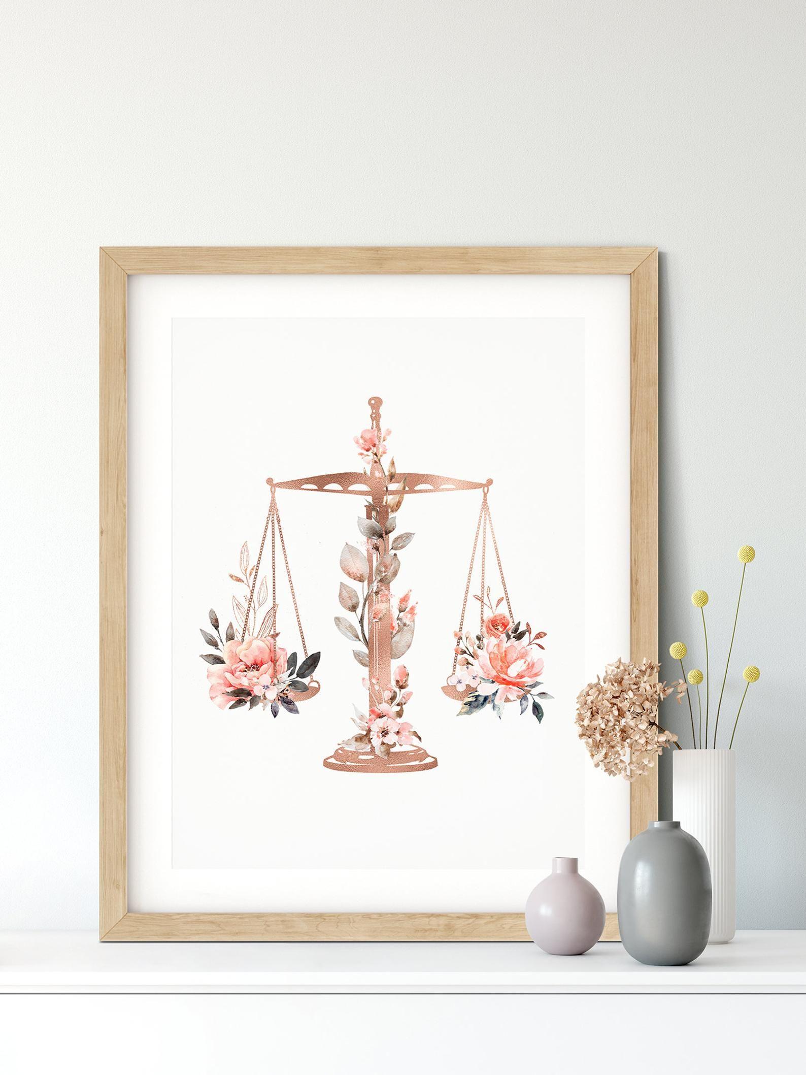 Law office decor lawyer gift law school graduation gift
