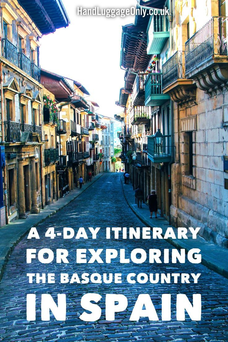 A 4-Day Travel Plan For Exploring The Basque Country In Spain - Hand Luggage Only - Travel, Food & Photography Blog