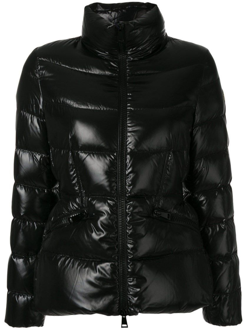 moncler black down danae jacket