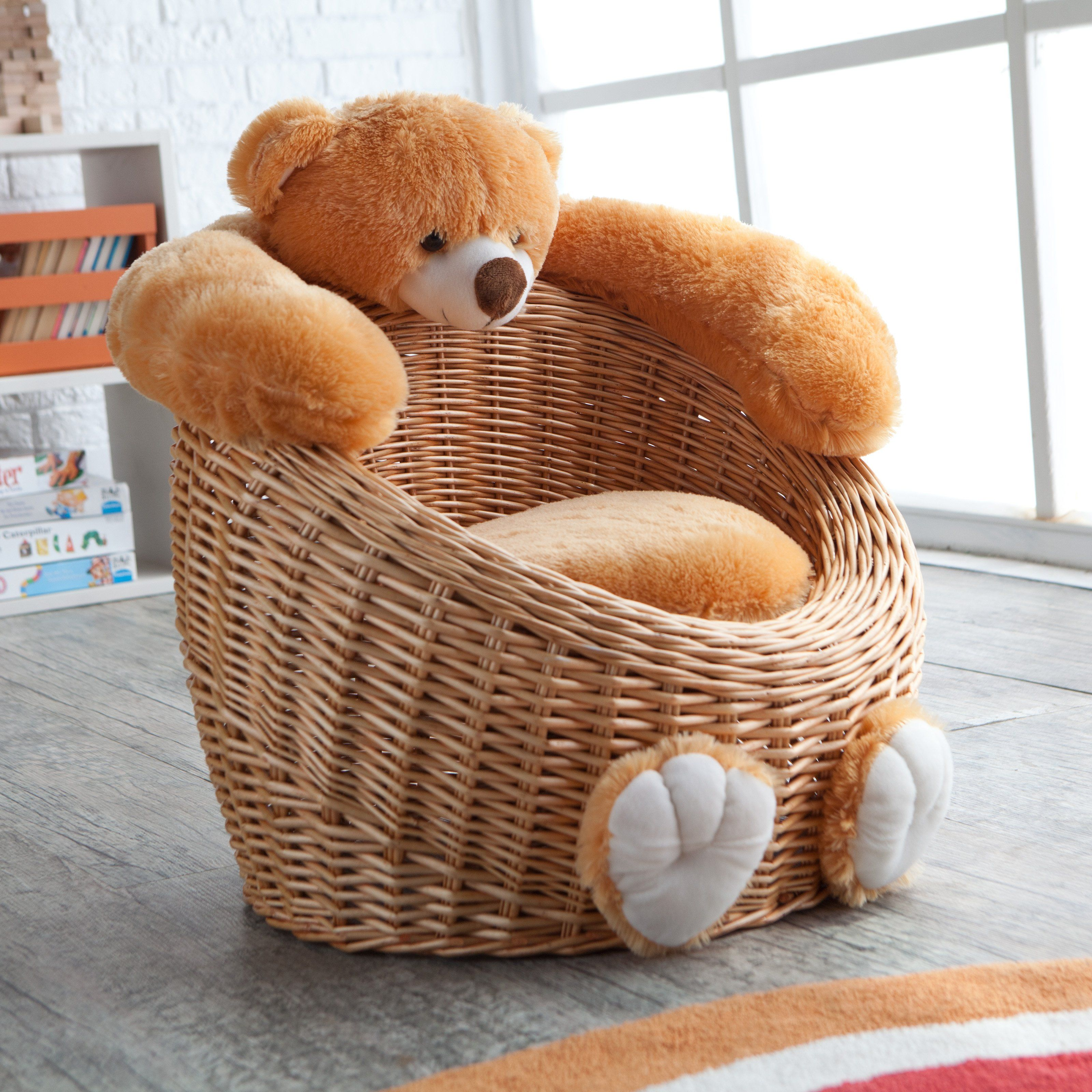 Willow Bear Chair Honey Www Hayneedle Com Small Spaces