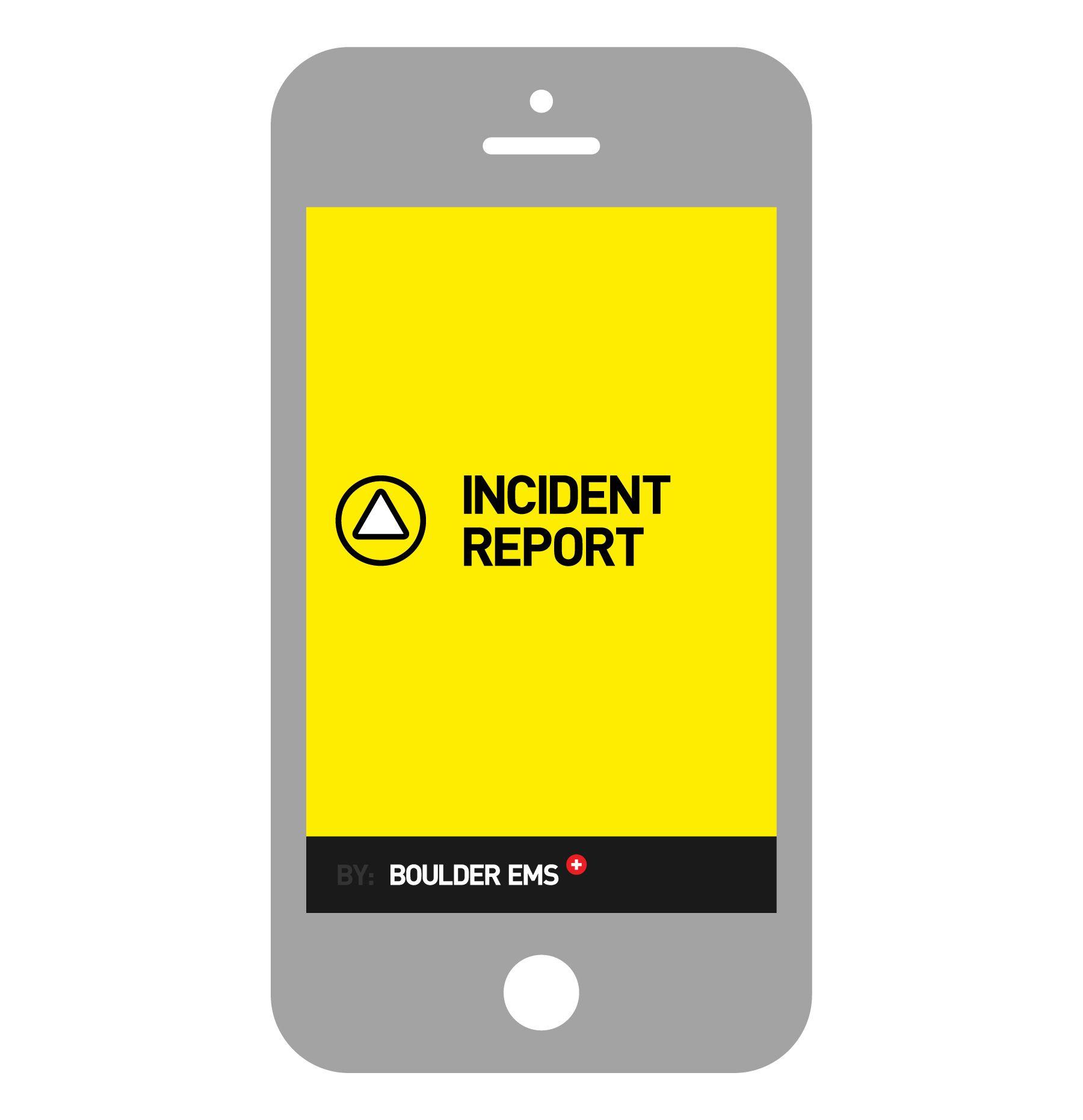 Incident Report Mobile App By Berger  Fhr  Ui Design Mobile