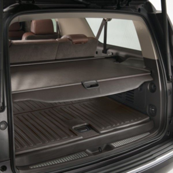 Yukon Denali Cargo Security Shade Cocoa Conceal Your Possessions