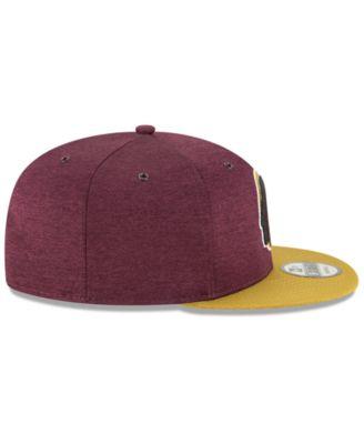 2a9b1c7efc1900 New Era Washington Redskins On Field Sideline Home 9FIFTY Snapback Cap -  Gold Adjustable