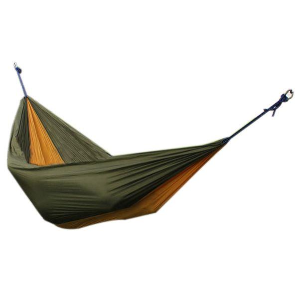 aotu at6737 camping 2 person parachute hammock military green   brown aotu at6737 camping 2 person parachute hammock military green        rh   pinterest