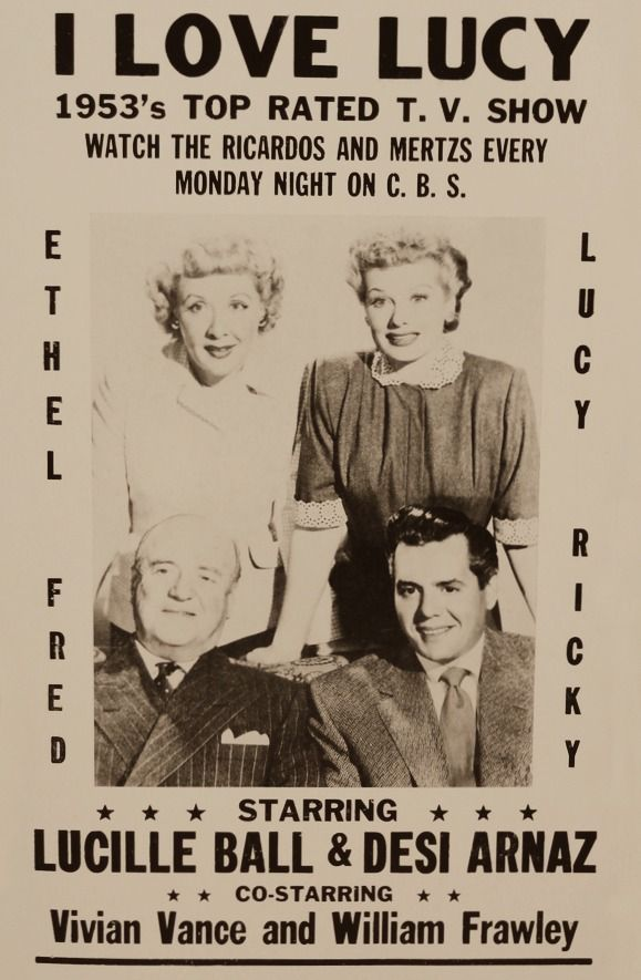 i love lucy television show advertising