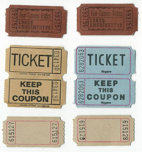 tickets tickets Pinterest Exclusives, Events and Customers - free printable tickets for events