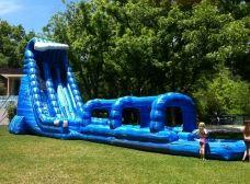Blue Crush Water Slide Water Slides Water Slide Rentals Bounce House Rentals