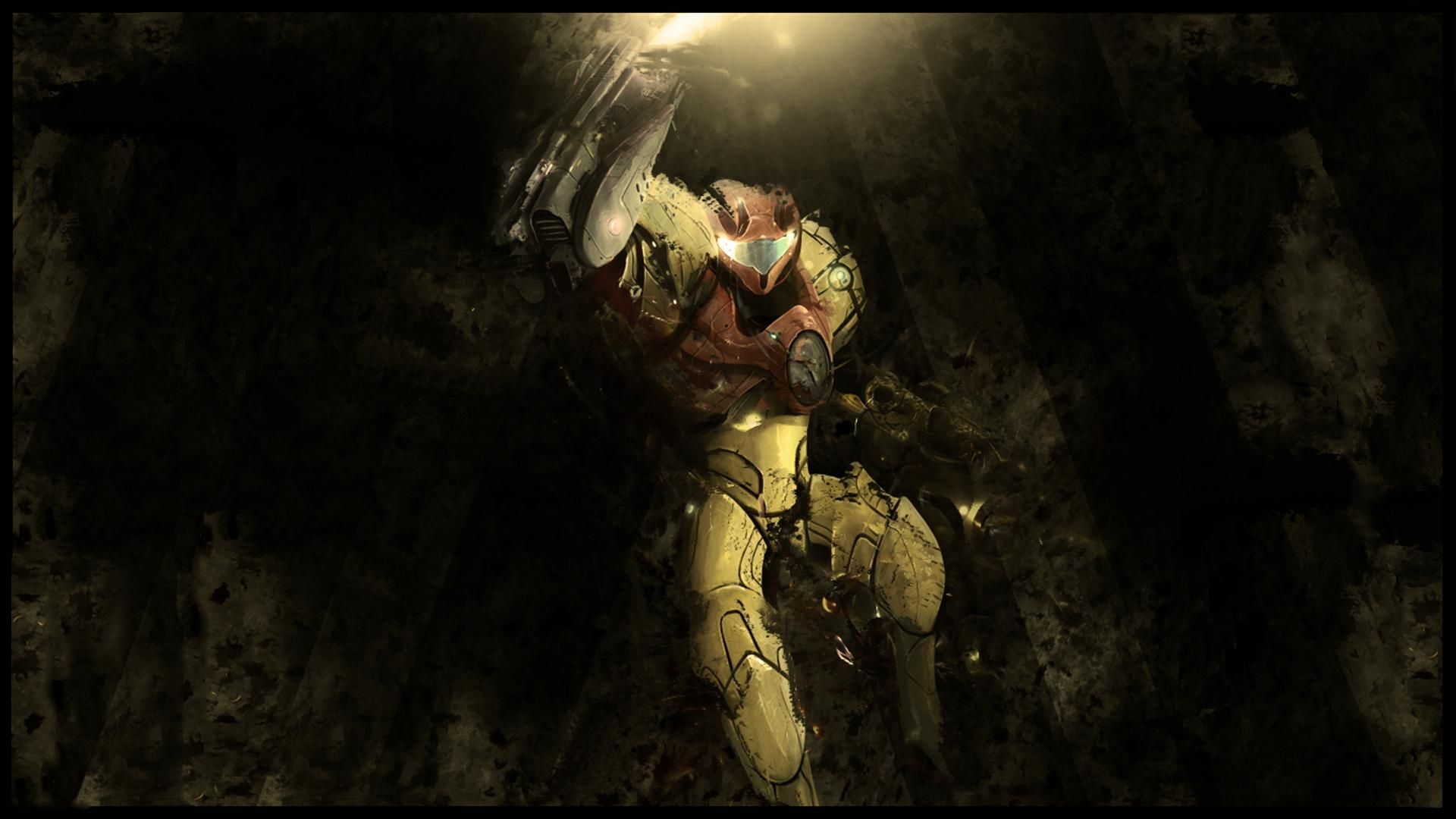 View Download Comment And Rate This 1920x1080 Metroid Wallpaper