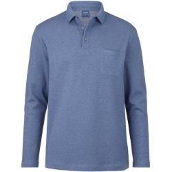 Photo of Olymp lässiges Poloshirt, moderne Passform, blau, M Olymp Polymp