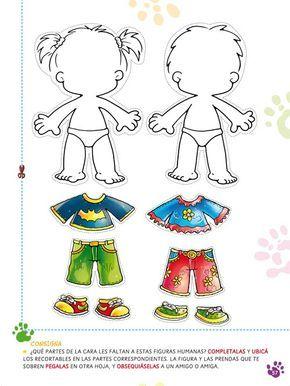 El Cuerpo Humano Imagenes Para Nivel Inicial Imagui Body Preschool Preschool Activity Preschool Activities