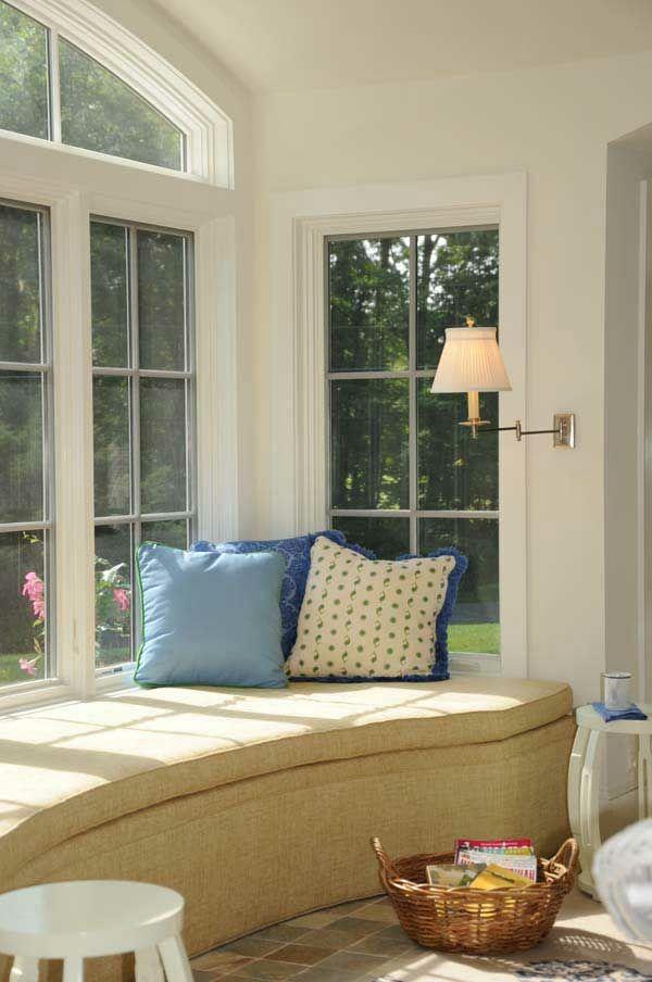 gemütliche Fenstersitze und Erkerfenster - 36 coole aktuelle Ideen                                                                                                                                                                                 Mehr