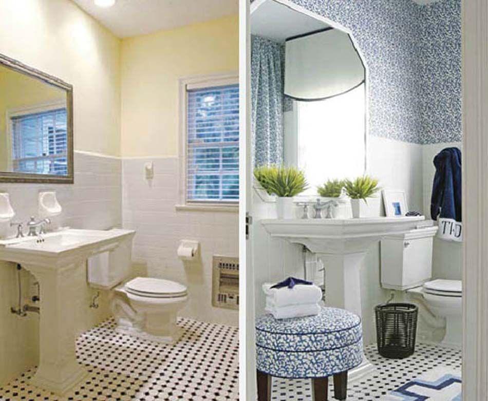 12 exemples avant apr s pour un relooking maisons totalement r ussi salle de bain. Black Bedroom Furniture Sets. Home Design Ideas