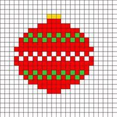 Pixel Art Cadeau De Noel Facile