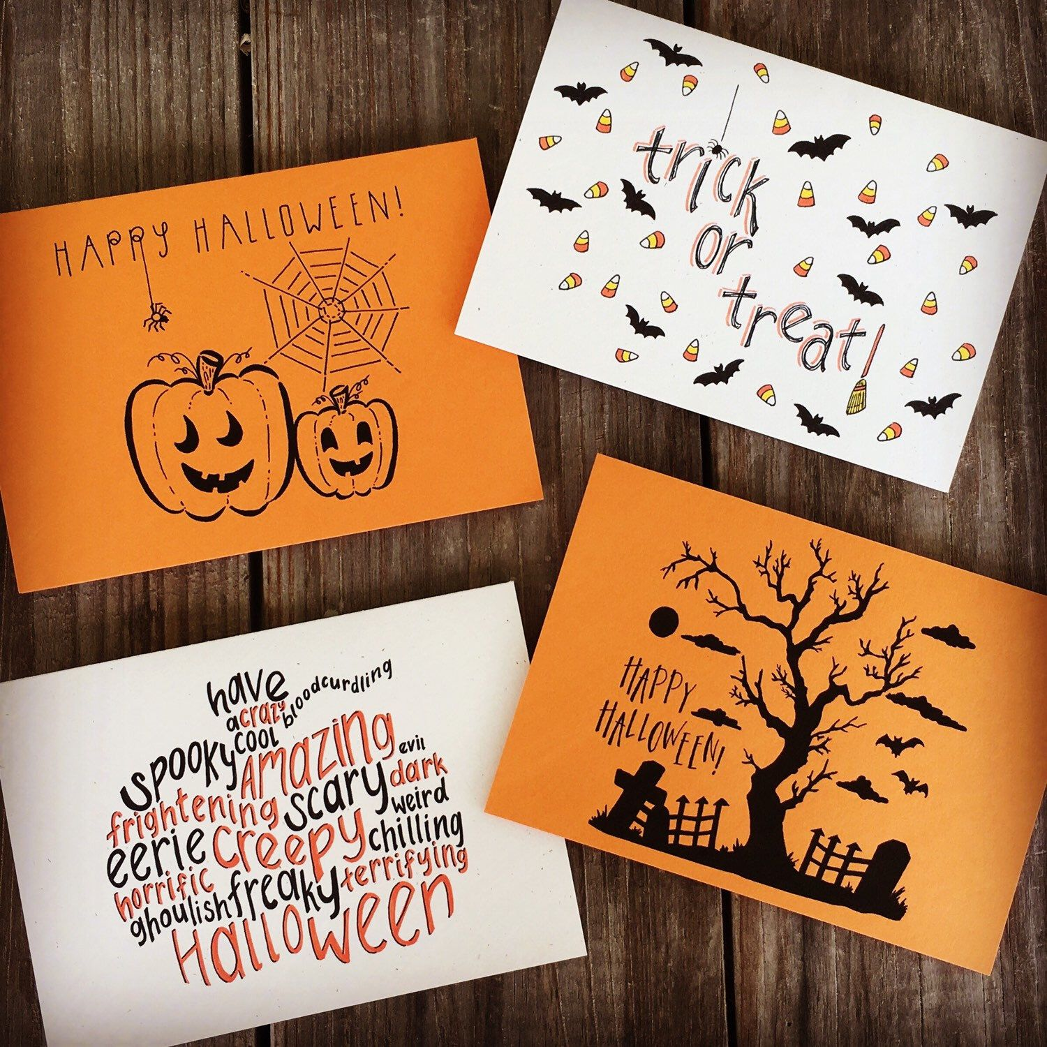 Choose any of your favorite Halloween cards!