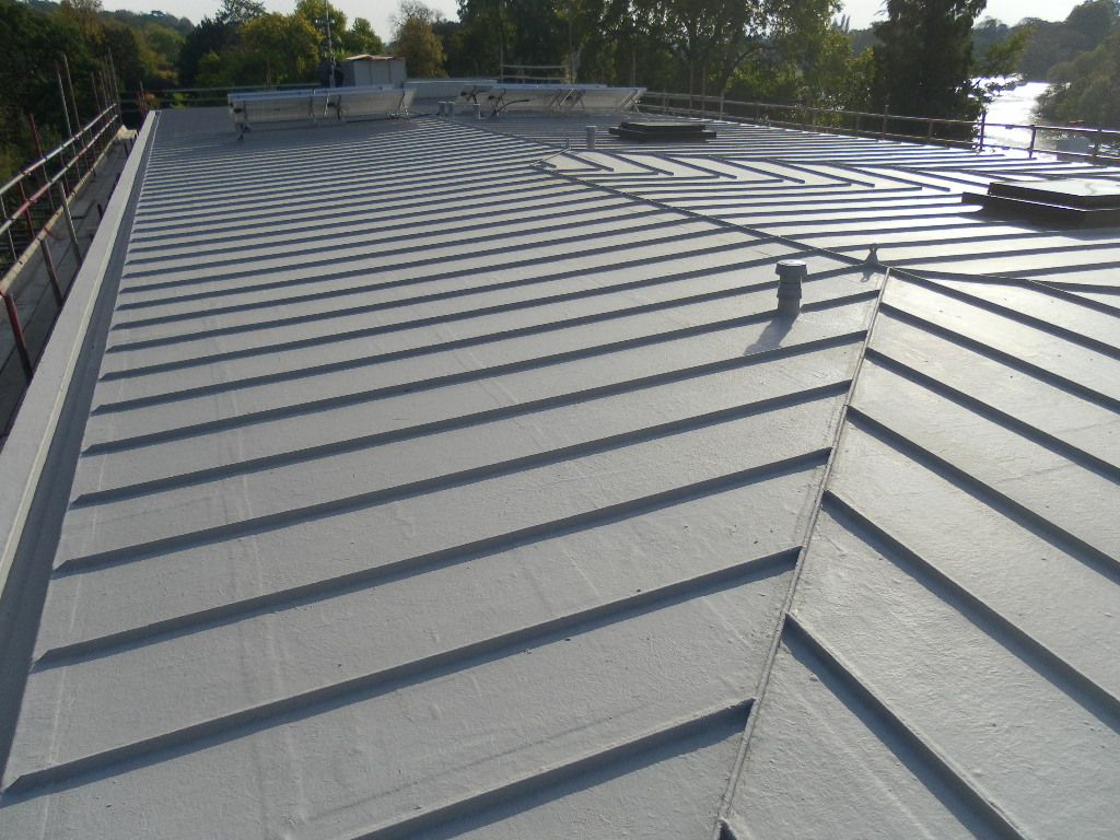 Protec with standing seam trims replicated the look of