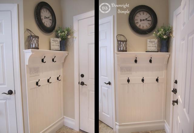 Foyer Closet Uk : Downright simple mudroom entryway maximizing a small