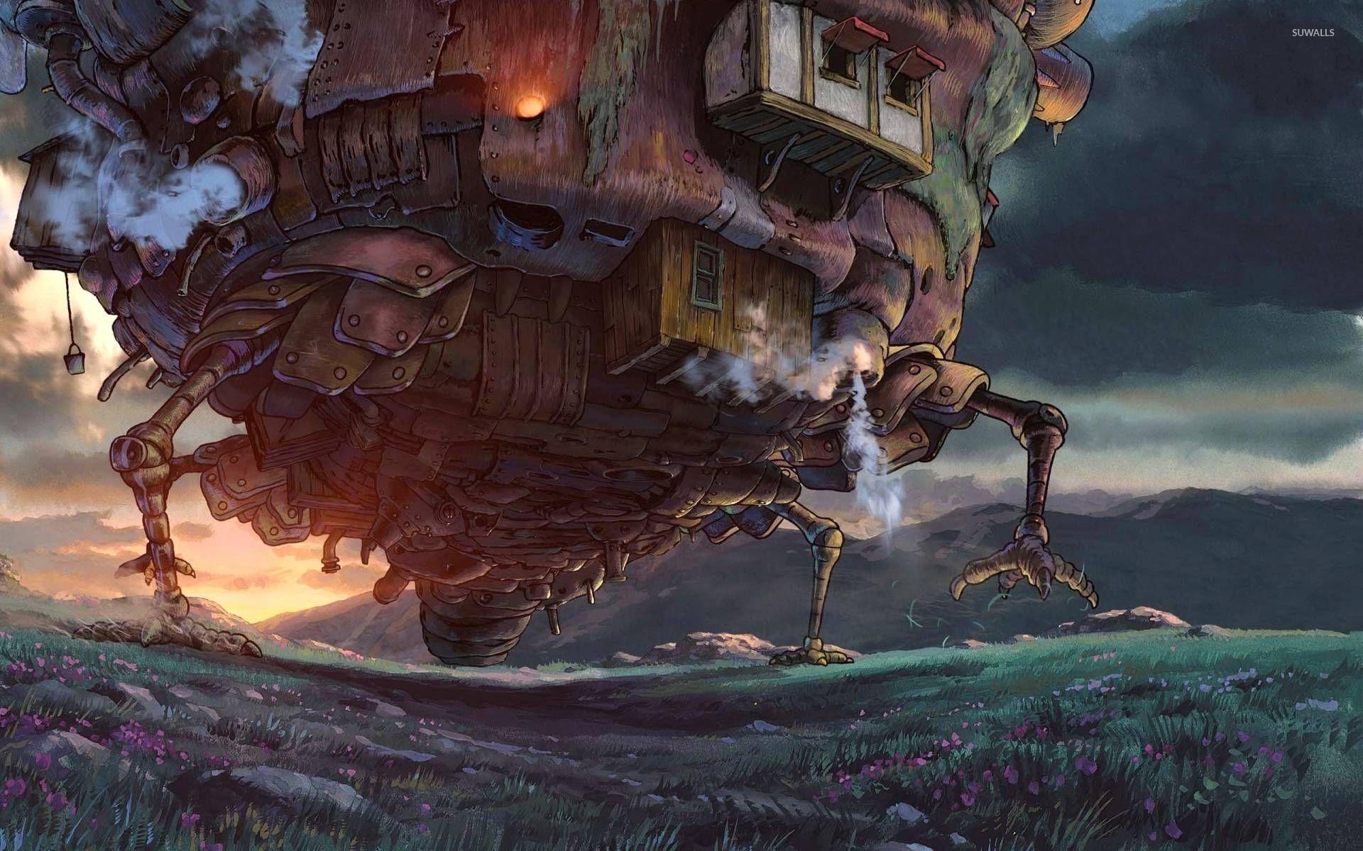 Suggestions Online Images Of Howls Moving Castle Wallpaper 1920x1080 Miyasaki Pelis Peliculas