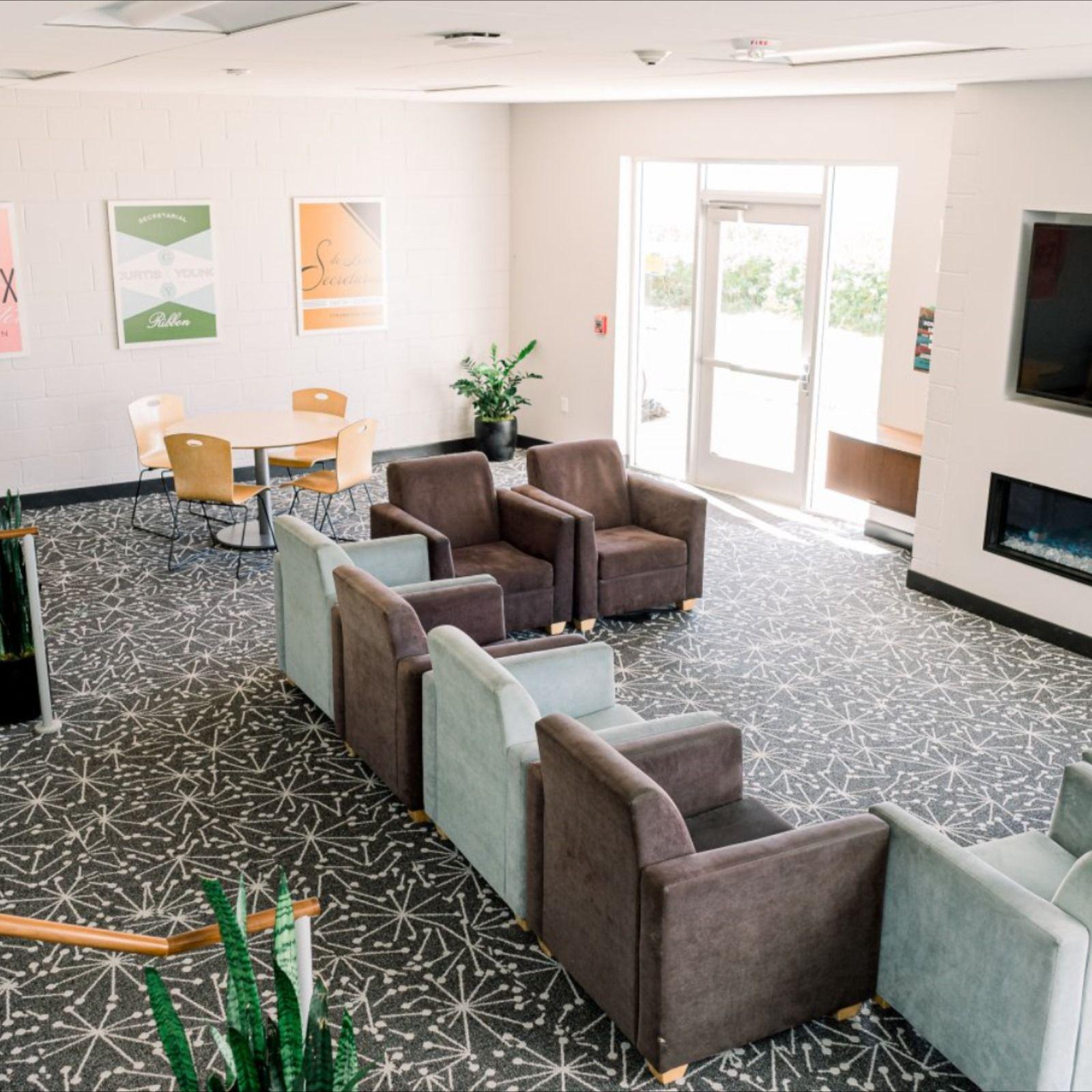 Klassen Dorms Built In Desk Study Rooms Residence Hall