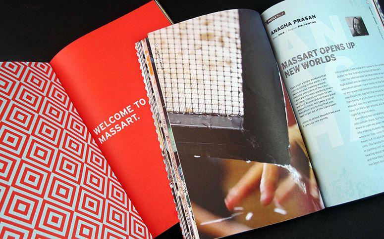 MassArt 2015 Viewbooks