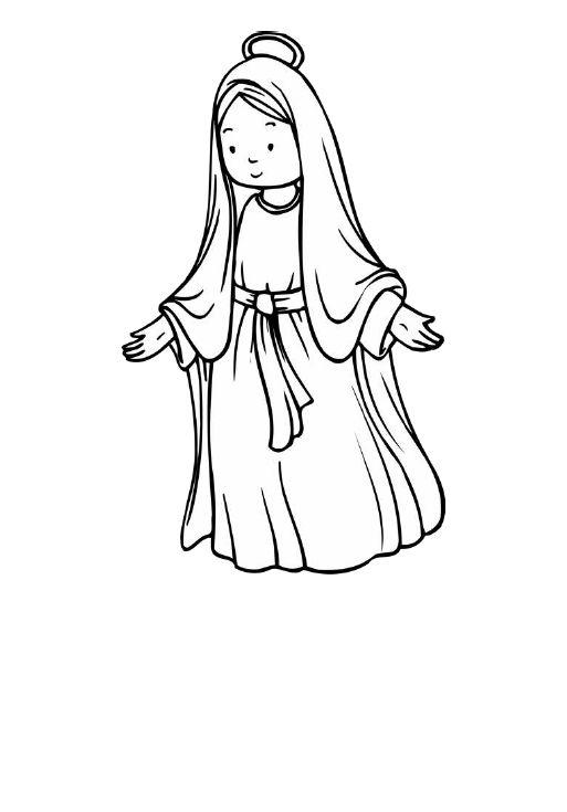 Imagen De Http Www Pekedibujos Com Dibujos Culturas Virgen