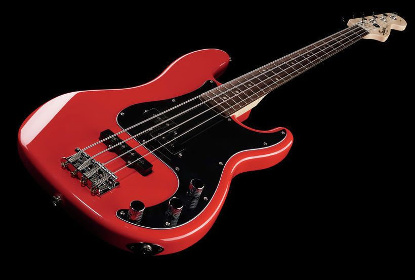 Fender Squier Affinity P Bass PJ Red