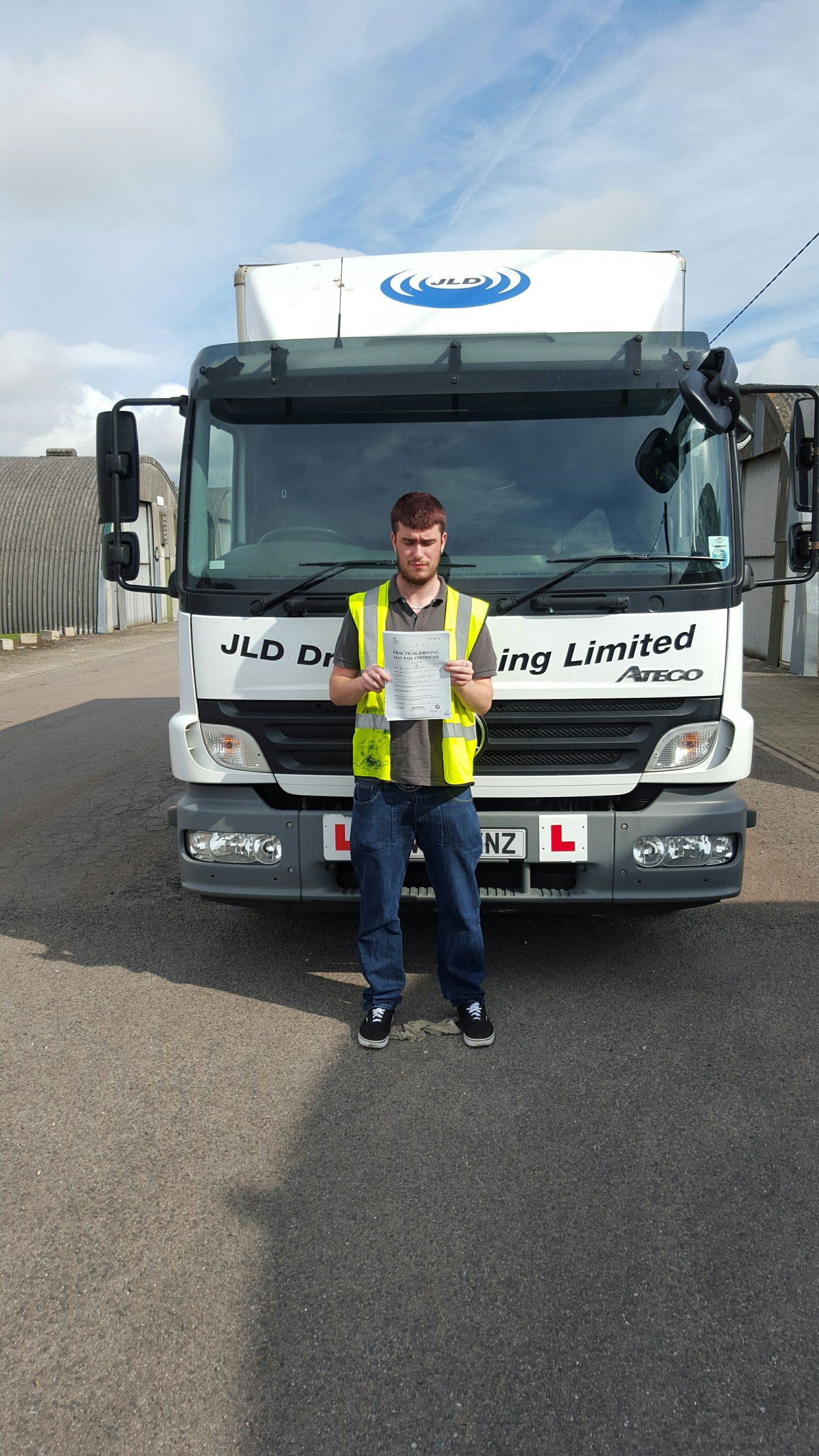 Another pass at JLD, congratulations