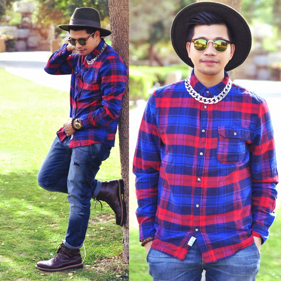 styling the timeless flannel trend, more stories on my blog below;  http://www.fashionwhoreffic.blogspot.ae http://www.fashionwhoreffic.blogspot.ae http://www.fashionwhoreffic.blogspot.ae  please show your love by hyping this look :-)  Hugs Butch x