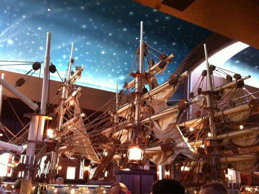 Inside Captain George S Seafood Restaurant Under Those Masts Lies The Biggest Best Seafo Myrtle Beach Restaurants Myrtle Beach Family Vacation Seafood Buffet