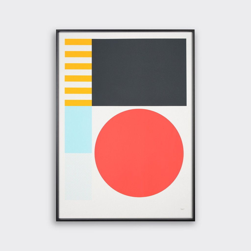 Play Screen Prints by Tom Pigeon