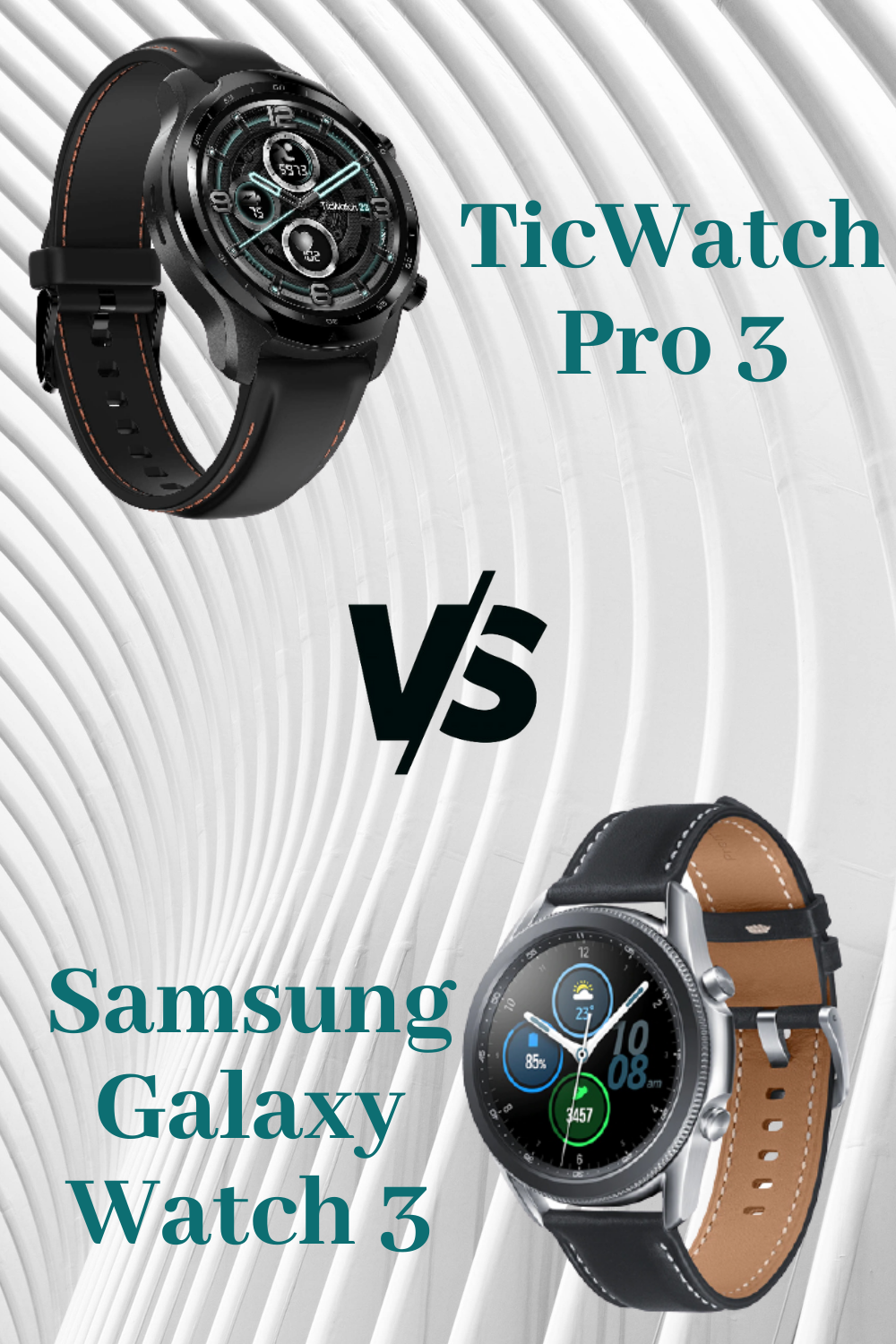 Ticwatch Pro 3 Vs Samsung Galaxy Watch 3 Which Smartwatch Is Better For Android In 2020 Samsung Samsung Galaxy Smart Watch