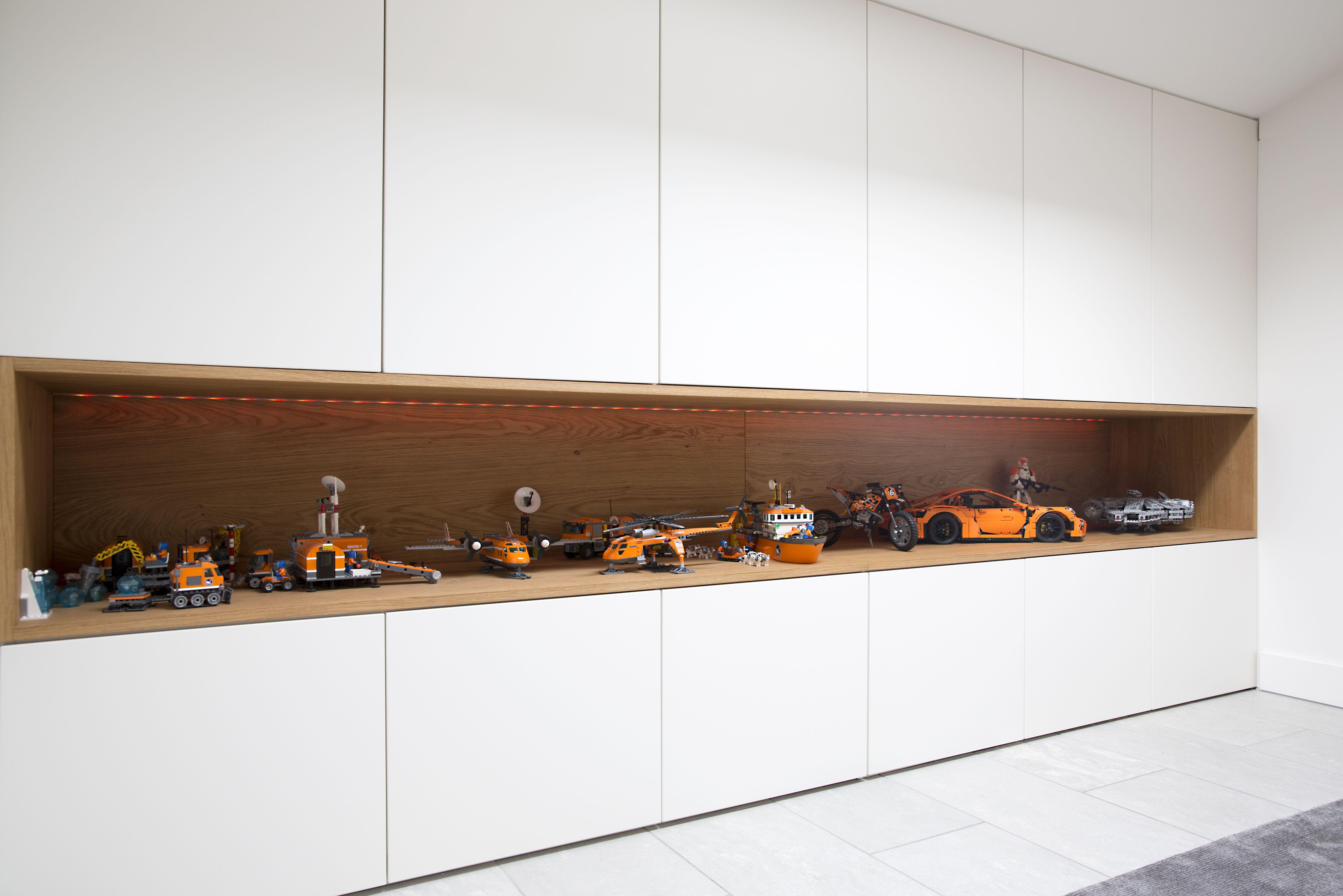 Zolder ontwerp lounge kamer voor tieners interieur design by