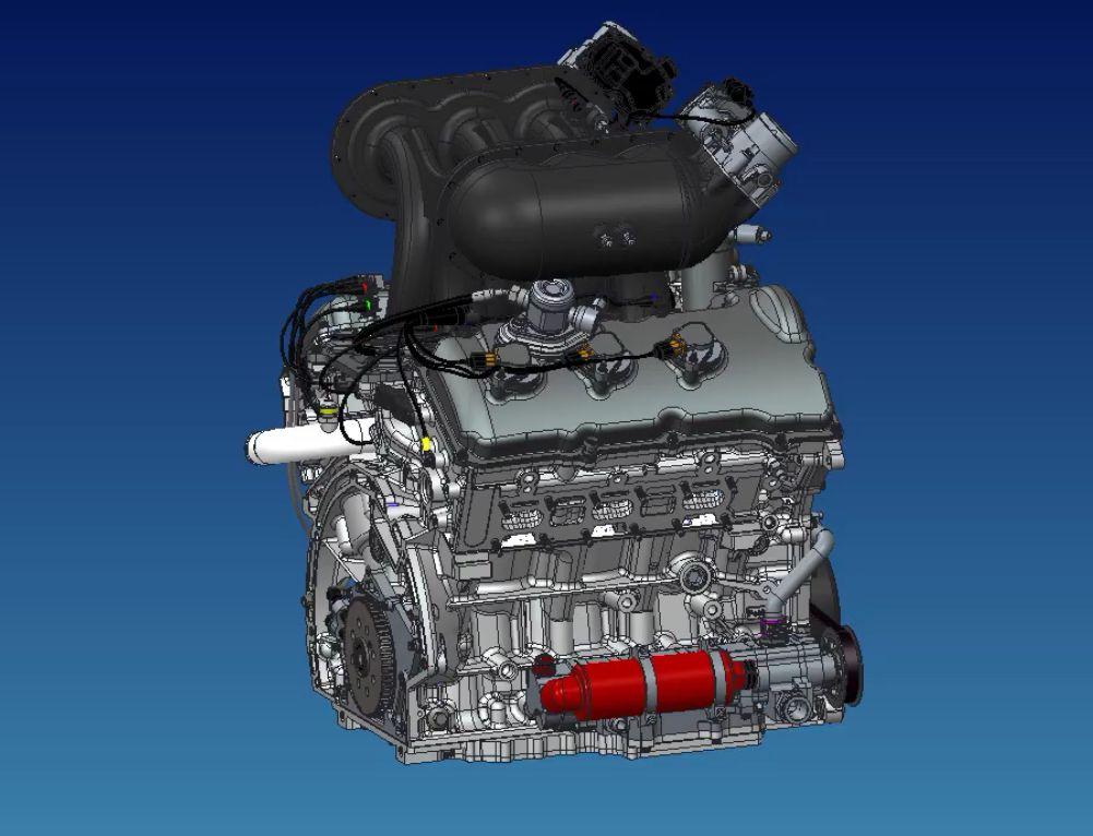 roush yates engines ford dohc v 6 ecoboost race. Black Bedroom Furniture Sets. Home Design Ideas