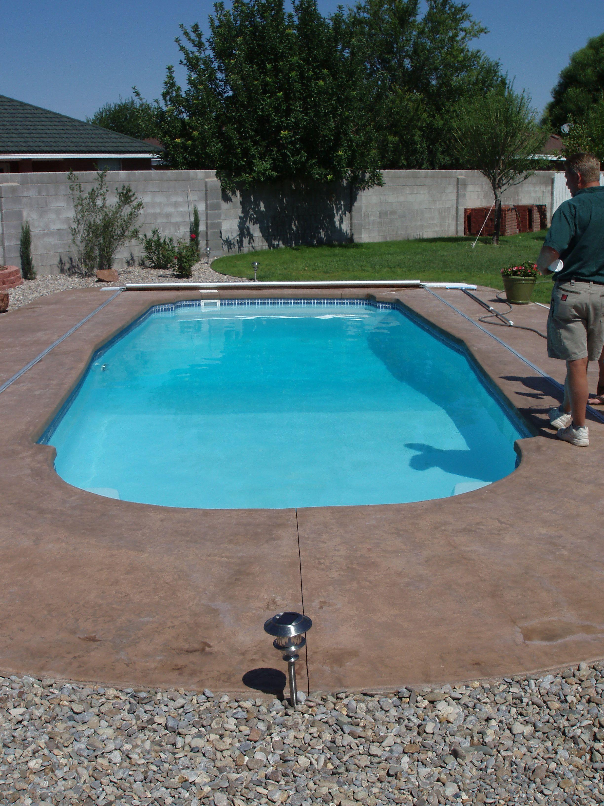 Deep Backyard Pool savannah deep san juan pools | testsanjuan | pinterest | san juan pools