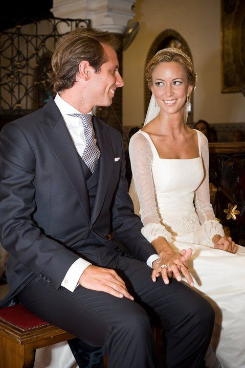 vestido de #novia de tul de seda. carmen maza | novias