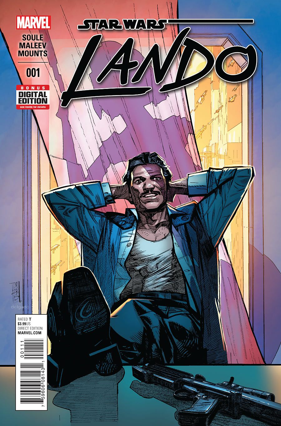 Star Wars: Lando #1 September 2015 https://www.facebook.com/pages/The-Nerd-Rave/113442648801172 #thenerdrave #marvel #comics #lando #starwars