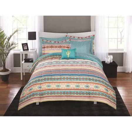 Bedroom In A Bag With Curtains Teal Google Search