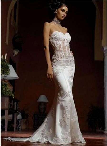 Nice white gothic wedding gowns 2017-2018 Check more at http ...