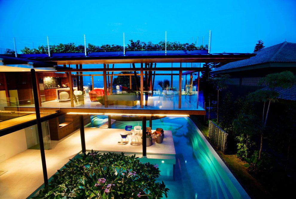 Modern Tropical House Design environmentally friendly modern tropical house in singapore