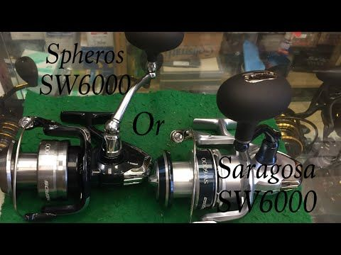 Shimano Spheros or Saragosa 6000 For Plugging! | FISHING