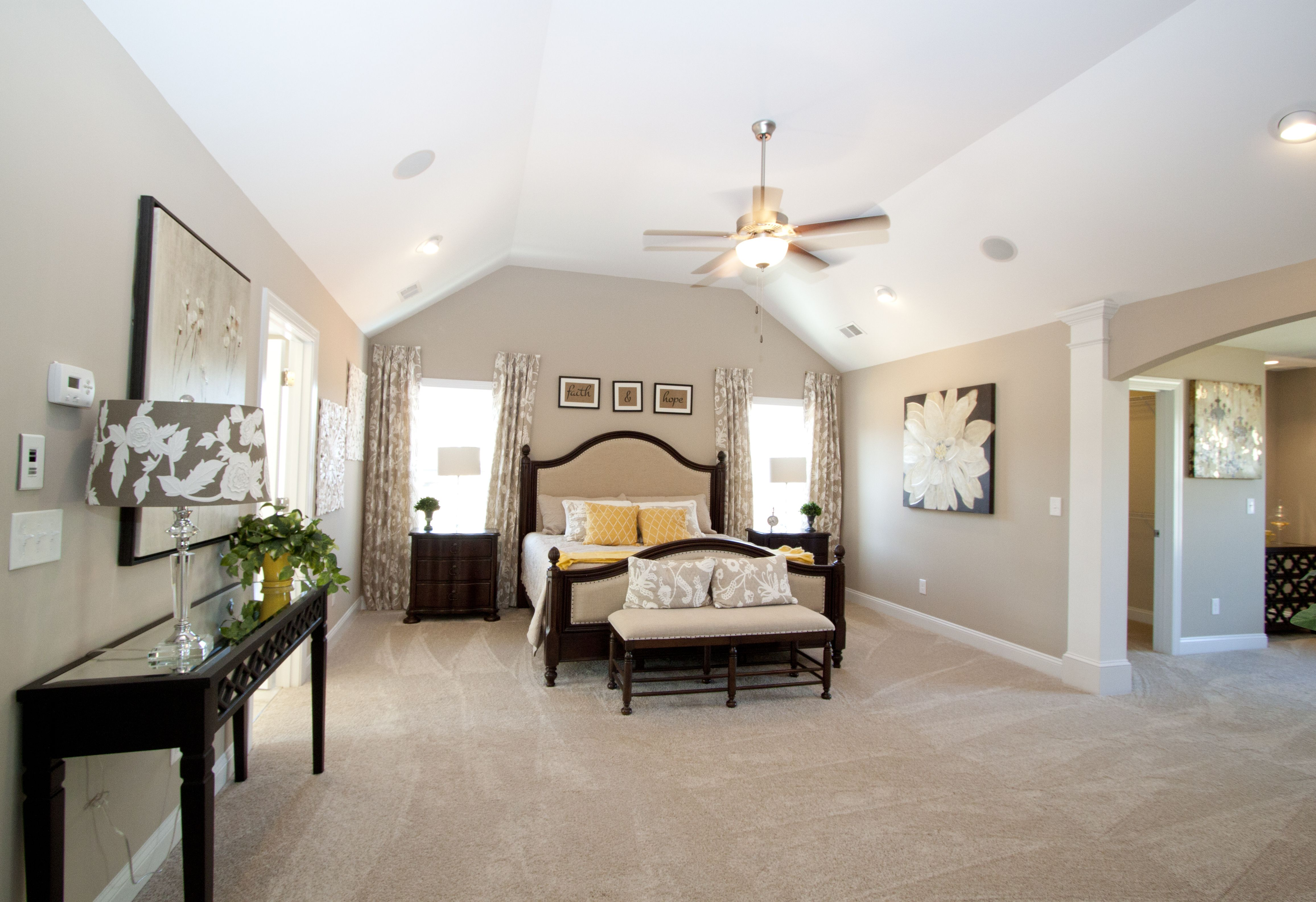 Springfield Model Home Master Suite