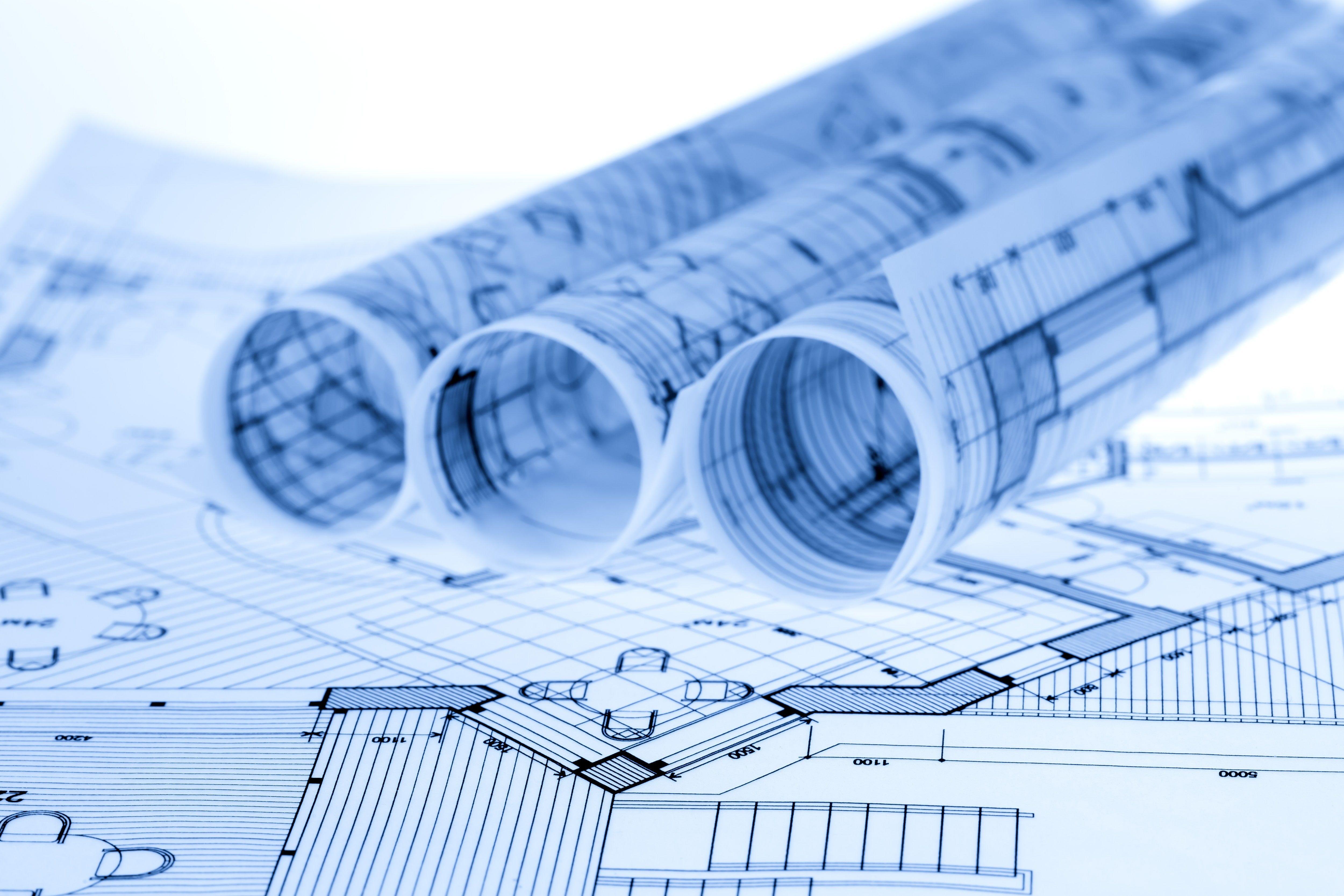 Scrolls Drawing Engineering Architecture 4k Wallpaper Hdwallpaper Desktop In 2021 Architecture Blueprints Architecture Blueprints