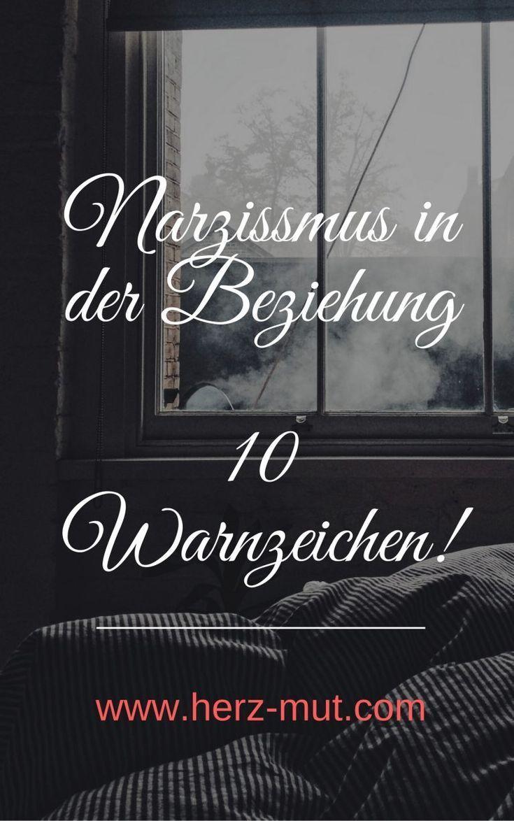 Narzissmus in der Beziehung - 10 Anzeichen dass dein