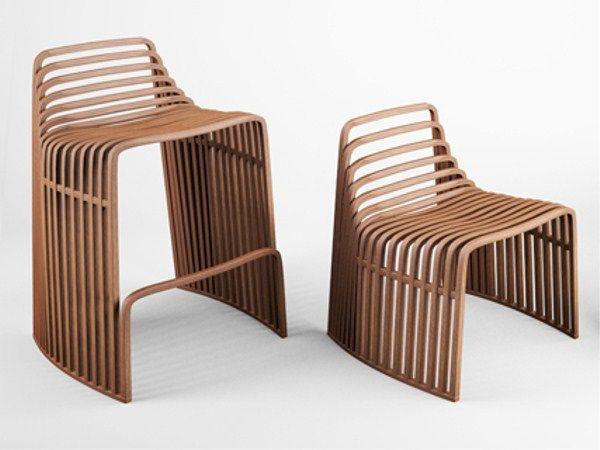 Sgabello In Legno Design : Sgabello alto in legno sgabello in legno design julien vidame
