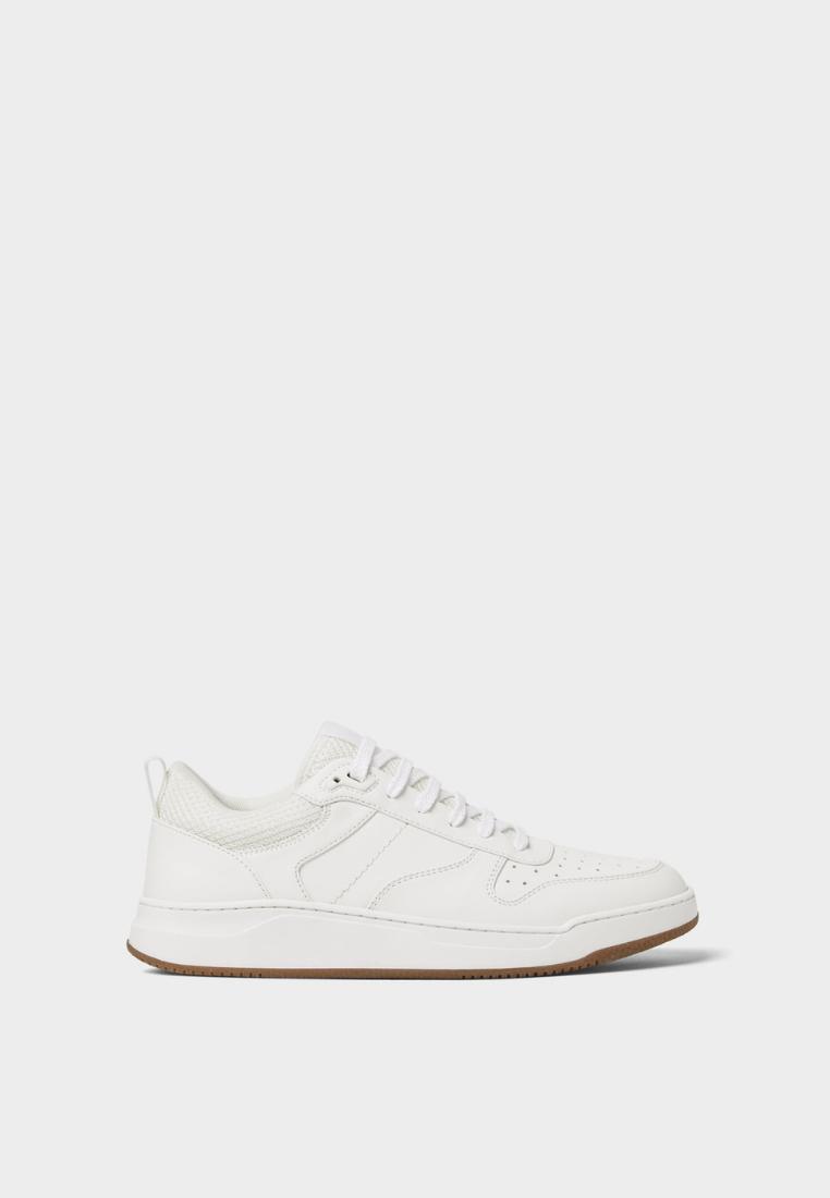 Zara White Retro Sneakers Idr 999 900 00 Theshonet